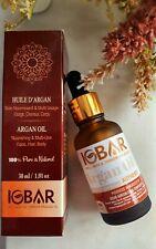 Huile d'Argan BIO Speciale Cheveux, Peau, Visage, 100% NATURELLE 30ml