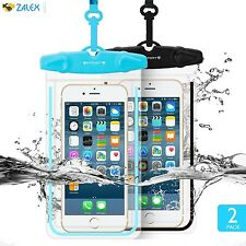 2 Pack Universal Waterproof Case FITFORT Cell Phone Dry Bag/ Pouch for iPhone 6