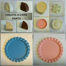 Vtg Fisher Price Fun with Play Food 4 Little Tikes Create-A-Cake Parts YOU PICK