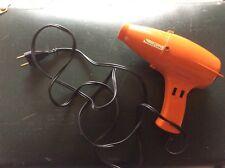 Ancien sèche cheveux orange année 70 retro MOULINEX