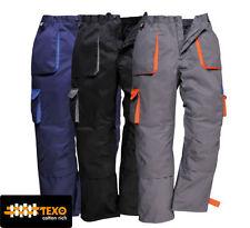 Pantalones de hombre en color principal azul Talla 42