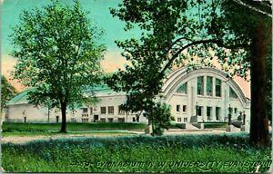 Vtg Postcard 1911 Gymnasium Northwest University Evanston Illinois