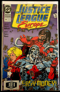 Justice League: Europe #10 VF+/NM-