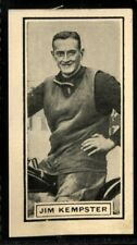 Trade Card, DC Thomson, Wizard, 1930 SPEEDWAY STARS, Jim Kempster, London, #6