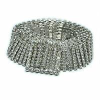 Women Full Rhinestone Luxury Waistband Shiny Belt Waist Chain Crystal Diamond
