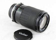 Olympus Om Bayoneta Fit Vivitar Mc Macro 1:4.5 -5.6 F = 70-210mm lente de zoom.