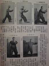 CHINESE MARTIAL ARTS BOOK Vintage 1960s KUNG FU Scarce ILLUSTRATED Photos BOOK