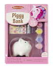 Melissa  Doug Decorate-Your-Own Piggy Bank 8862 New Sealed