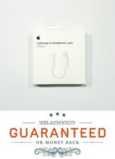 Genuine OEM Apple Lightning to 3.5 mm Headphone jack Adapter iPhone X 8 7 Plus
