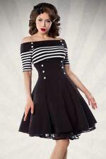 Vintage-kleid mit Carmen- Ausschnitt s
