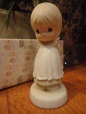 Precious Moments Figurine God Is Love Dear Valentine 1989 523518 Mib