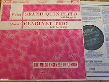 SOL 60020 Weber/MOZART/Melos Ensemble di Londra