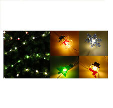 20L Mini LED String Light Assort 6-Pack contains 6 different Christmas figures