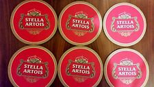 Stella Artois Coasters Drip Mats Bar Mats Home Is Where My Stella Is Theme x 6