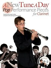 A New Tune A Day - Pop Performance Pieces - Clarinet Book & CD *NEW* Songs ABBA