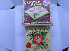 Flower Press Craft Children's Gift Tradition Crafts for Kids Nature Toy