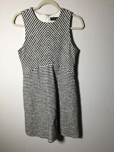 ivanka trump Womens Striped Skater Dress Size US 6 Aus 10 Sleeveless