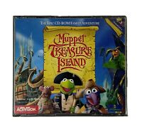 Muppet Treasure Island PC, 1996 CD-ROMs for Windows 3.1/95, Case & Disc's Only