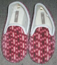Chaussons pantoufle rose taille pointure 36