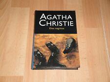 AGATHA CHRISTIE DIEZ NEGRITOS LIBRO EDICION DEL AÑO 2003 DE EDITORIAL MOLINO