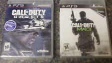 PS3 Call of Duty MW3 Modern Warfare 3 + Ghosts Playstation 3 Activision NEW SS