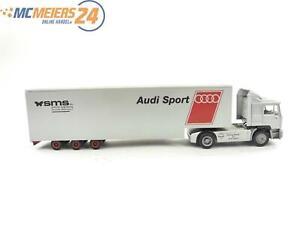 "E122 Herpa H0 035651 Modellauto LKW Sattelzug MAN F90 ""Audi Sport"" 1:87"