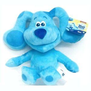 Blues Clues & You! - BLUE -Plush Stuffed Puppy Dogs Nick Jr. Toys NWT