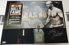 Bas Rutten Signed 16x20 Photo Beckett COA UFC Hall of Fame HOF Picture Autograph