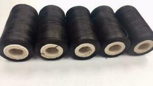 5 x Spools Of Machine Silk Embroidery Threads For BROTHER ,JANOME And Many More