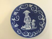 Vintage Royal Copenhagen Mors Dag Mother's Day Plate 1971 Mom Child Cat Kittens