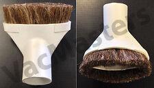 "Premium central vacuum & portable  Dusting Brush attachment, Fits ALL 1.25"""