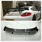 GT4 Rear Spoiler Wing Carbon Fiber for 981, 987 and 718 Cayman's and Boxster