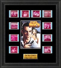 Dr No (1962) James Bond Film Cell Memorabilia FilmCells Movie Cell Presentation