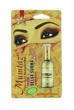 Khojati Mumtaz Gold Series Delux Kohl Original Surma with Almond Oil *US Seller*