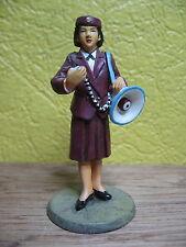 FIGURINE DEL PRADO POMPIER AGENT DE PREVENTION FEMININ TOKYO 2003 JAPON