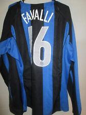 Inter Milan 2004-2005 Favalli  Home Football Shirt Size Large /34072