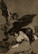 Soplones Sorcellerie Démon Francesco Goya Los caprichos Eau Forte Segui 1928