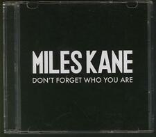 MILES KANE Don't Forget Who You Are DUTCH PROMO CD SINGLE