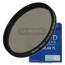 Nicna 72mm CPL Pro1-D plana MC CPL C-PL polarizador PL 72mm filtro