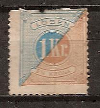 SWEDEN  # J-22 UNC Postage Due Stamp