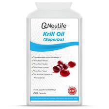 Aceite De Krill (Superba) - 500mg - 240 Cápsulas