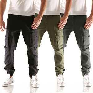 Jack & Jones Paul Flake Cargo Tapered Fit Herren Jeans Hose in 8 Farben