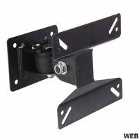 Soporte de Pared Para TV LED LCD 14-24'' Inclinable - Negro