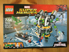Lego Marvel Super Heroes Spider-Man doc ocks tentakelfalle 76059 nuevo con embalaje original,