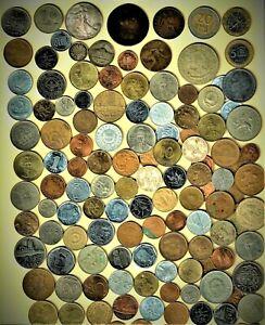 "World Coin #1 lot ""AZ"" w/silver (3), Bimetallic (3) ,Vintage (3) + A.U/B.U.(10+)"