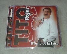 CD ORIGINAL SALSA. TITO ROJAS - EL GALLO DE LA SALSA. PERFORMANCE RECORDS 1998.