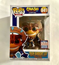 2021 Sdcc Funkon Summer Convention Crash Bandicoot in Mask Armor #841 In Hand!