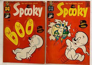 1963 1964 Harvey Comics Spooky The Tuff Little Ghost #'s 74 - 79