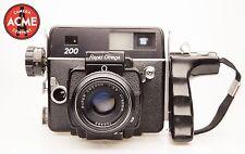 Rapid Omega 200 Black Camera w/ 90mm Lens and 120 film Back