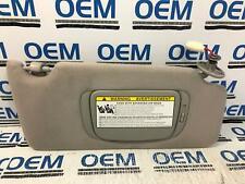 07 08 09 LEXUS RX350 passenger/right side sunvisor sun visor shade gray OEM